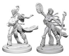 Pathfinder Deep Cuts Unpainted Miniatures - Human Female Sorcerer