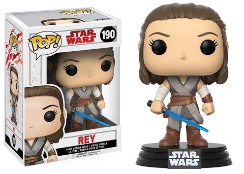 Star Wars. Last Jedi Rey Funko Pop! Vinyl Figure || Звездные Войны. Последние Джедаи - Рэй
