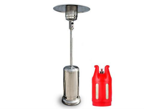Уличный газовый обогреватель Амиата с композитным баллоном LiteSafe 24l