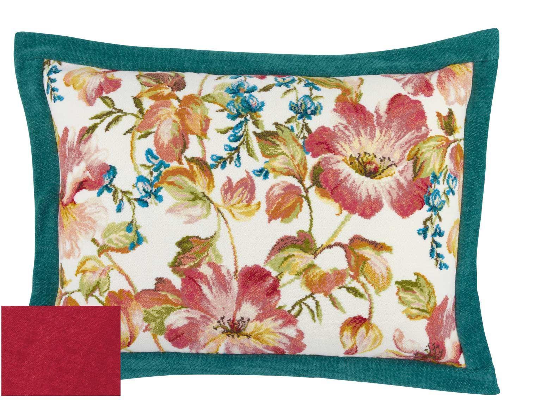 Декоративные подушки Наволочка 50х70 Feiler Hibiskus 132 karminrot hibiskus12_07___копия.jpg