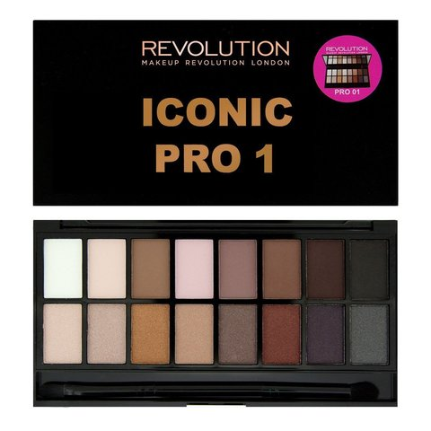 Палитра теней Makeup Revolution Iconic Pro 1