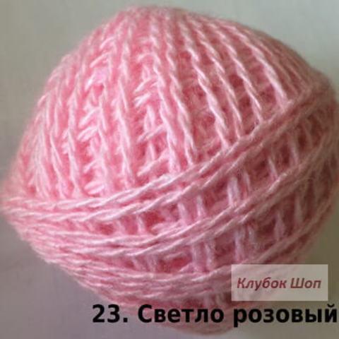 Пряжа Карачаевская Светло-розовый 23, фото