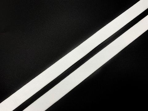 Резинка бретелечная белая 15 мм Lauma