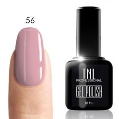 TNL, Гель-лак № 056 - бледно-розовый (10 мл)
