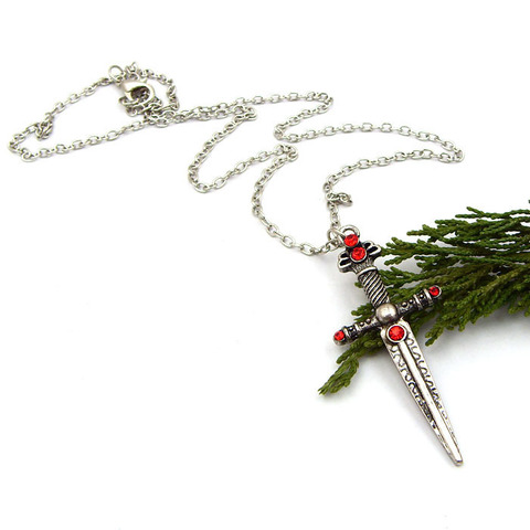 Harry Potter Gryffindor sword necklace