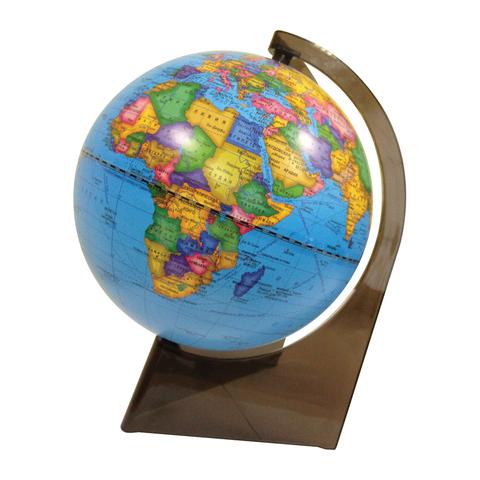 Глобус политический Глобусный мир, 21см, на треугольной подставке