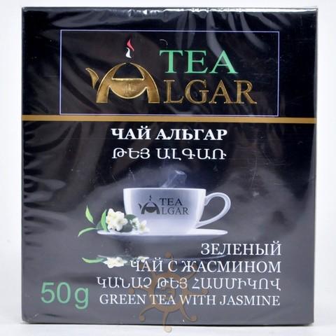 Чай зеленый с жасмином Альгар, 50г