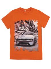 BK003-19 футболка детская, оранжевая