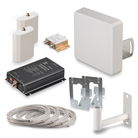KROKS KRD-900-2  Комплект усилителя GSM900 с репитером