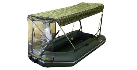 Тент-крыша зеленый камуфляж