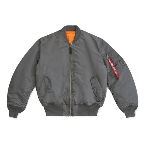 Куртка бомбер Alpha Industries MA-1 Gun Metal