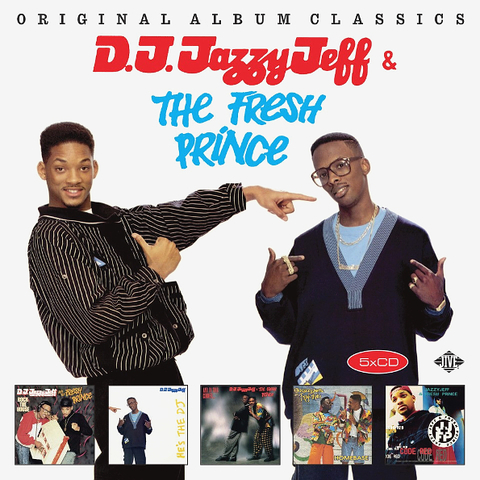 DJ Jazzy Jeff & The Fresh Prince / Original Album Classics (5CD)