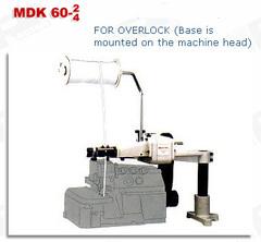 Фото: Устройство механической подачи тесьмы для оверлока MDK 60-4