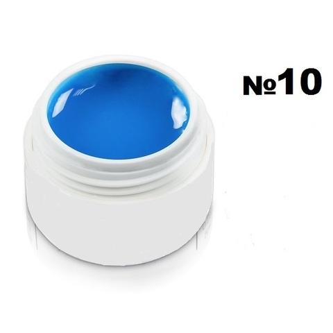 Моделирующий гель-пластилин для декоративного дизайна 7гр. №10 Синий
