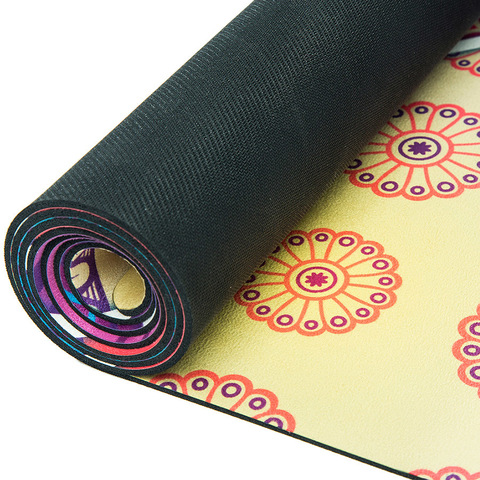 Коврик для йоги Лоскутный 183*61*1-3,5мм