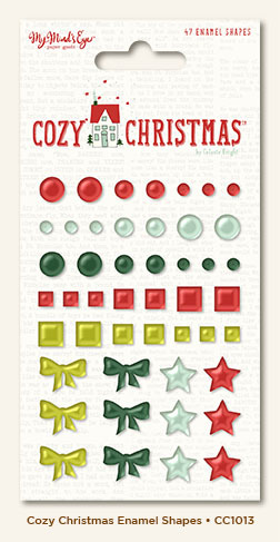 Капли дотс Cozy Christmas