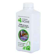 Гель для мытья линолеума и кафеля, CLEAN HOME, универсальный, 1 л (есть фосфонаты)