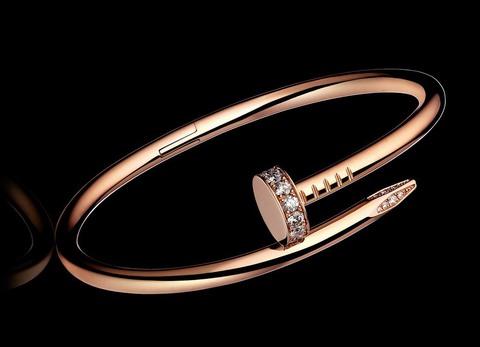 Браслет Cartier Juste Un Clou Rose Gold Diamonds
