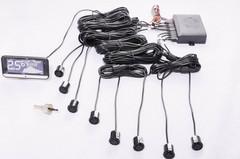 Система Парковки С-TRI (CT PTS 810V10), 8 датчика (черный) .комп