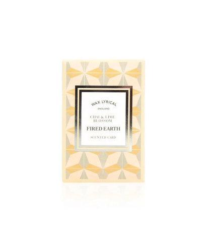 Ароматическая карточка Индийский чай и цветок липы, Wax Lyrical
