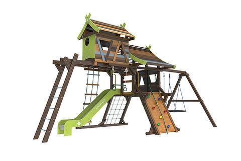 Детская деревянная площадка Хижина Аквитания