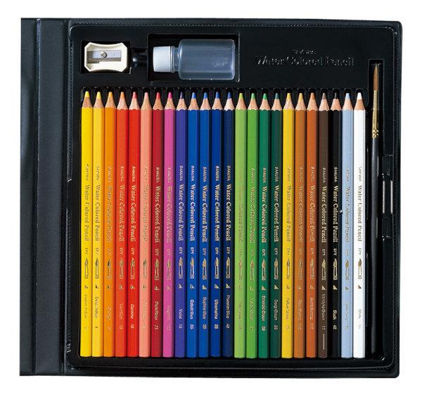 Акварельные карандаши Sakura Water Colored Pencil (24 цвета)