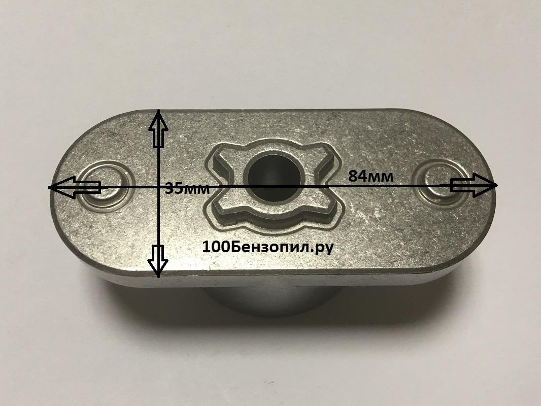 адаптер ножа для газонокосилки под вал 22мм