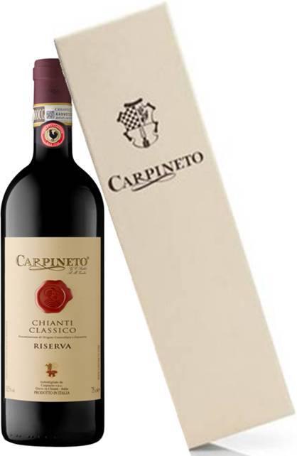 Carpineto Chianti Classico Riserva D.O.C.G in wooden case