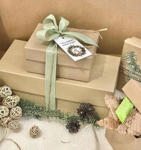 Упаковка подарка.