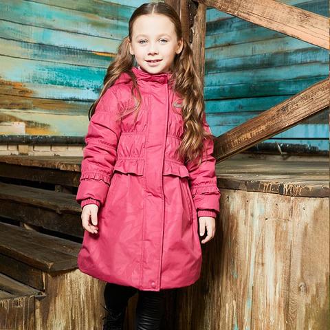 Premont демисезонное пальто Малиновый рассвет SP71311 PINK