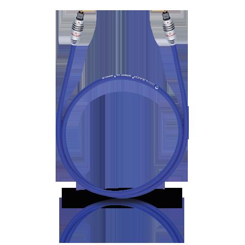 Oehlbach XXL 80 Optocable 0.5m blue, кабель оптический