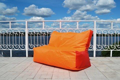 Кресло-мешок «Диван» Оранжево-красный