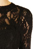 Платье из кружева ERMANNO SCERVINO