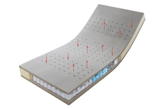 Матрас ортопедический Hulsta Top Point 500 160x200 до 100 кг средний
