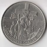 K6067, 1984, Канада, 1 доллар Жак Картье 450 лет открытия Гаспе