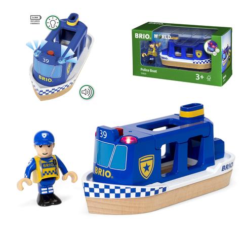 BRIO 33820 Полицейский катер