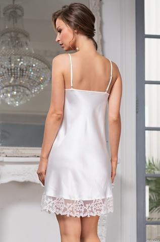 Сорочка женская шелковая MIA-Amore WHITE SWAN Белый Лебедь 3551
