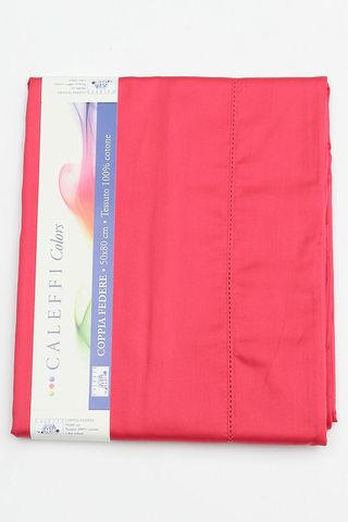 Простыня на резинке 160x200 Сaleffi Raso Tinta Unito сатин ярко-розовая