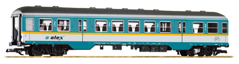 Piko 37626 Пасажирский вагон ALEX 2 класс, 1:22,5