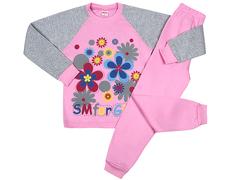 DL001/159M-102-1 пижама для девочек, розовая