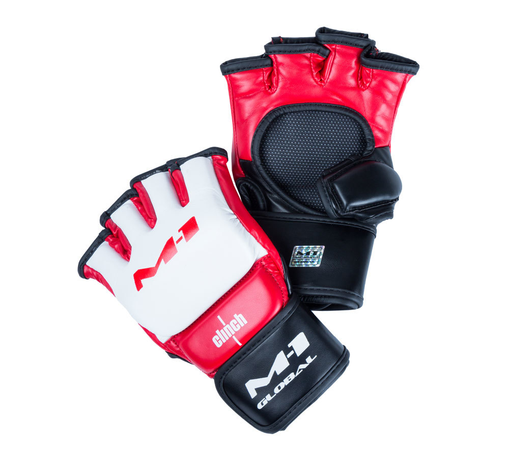 ММА перчатки Перчатки для смешанных единоборств Clinch для M-1 Global perchatki_dlya_smeshannykh_edinoborstv_clinch_m1_global_gloves_belo_krasno_chernye.jpg