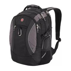 Рюкзак Swissgear 15'' , чёрный/серый, 35х23х48 см, 39 л