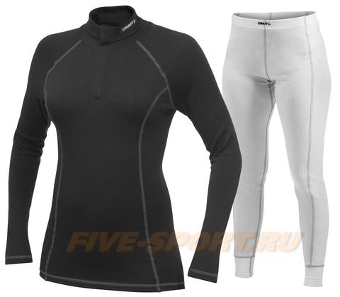 Комплект Термобелья Craft Active женский black/white