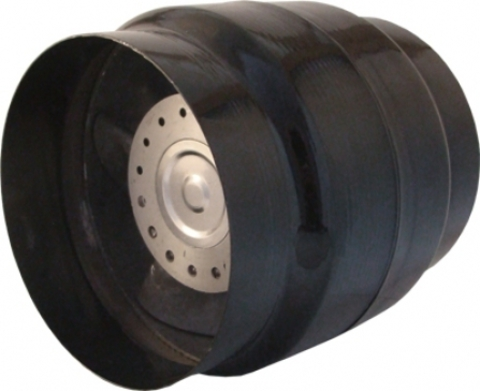 Вентилятор канальный Mmotors JSC ВК 200 (+150°С) с Термостатом (для камина, саун, бань, хамам)