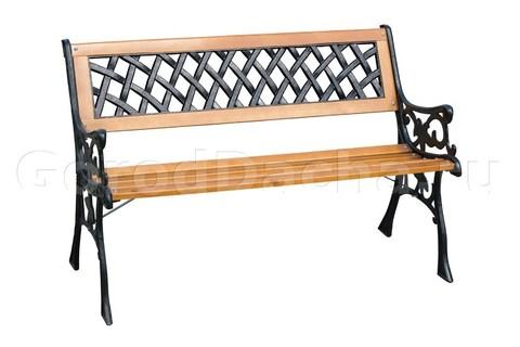 Скамейка чугунная садовая «Жардин»