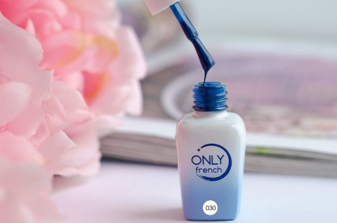 Гель-лак Only French, Blue Touch №030, 7ml