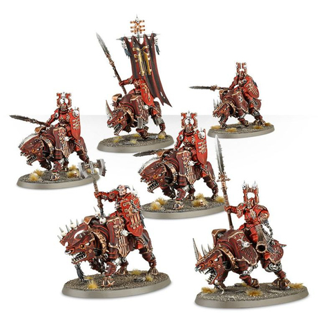 KHORNE BLOODBOUND MIGHTY SKULLCRUSHERS