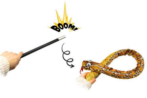 волшебная палочка в змею