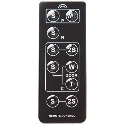 Универсальный ИК-пульт Flama FL-UNV предназначается для дистанционного управления компактным фотоаппаратом и камерами SLR Canon, SLR