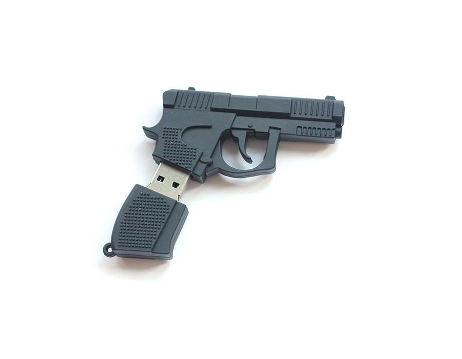 usb-флешка пистолет
